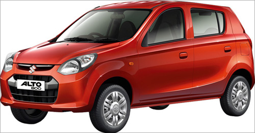 Maruti Suzuki Alto 800.