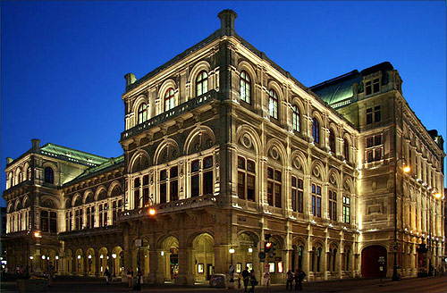 Vienna State Opera, Vienna.