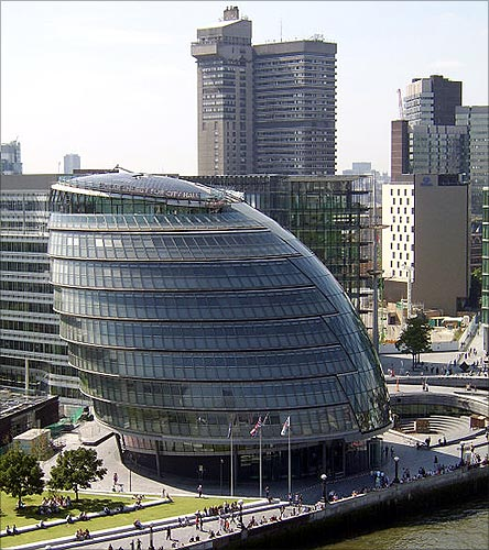 City Hall, London.
