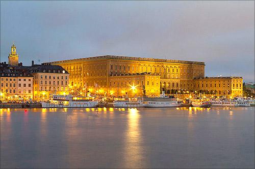 Royal Palace, Stockholm.