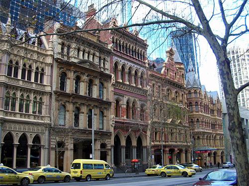 Melbourne Collins Street.