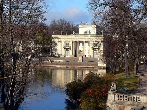 Lazienki Palace, Warsaw.