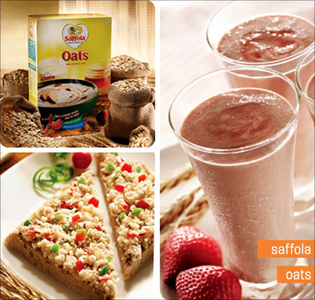 Saffola Oats.