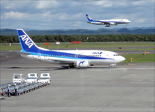 ANA aircraft.