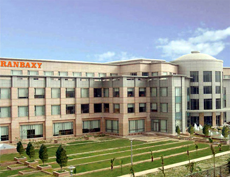 Ranbaxy Laboratories.
