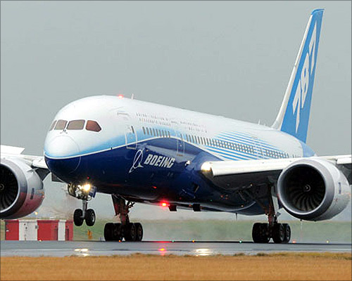 Boeing 787 Dreamliner.