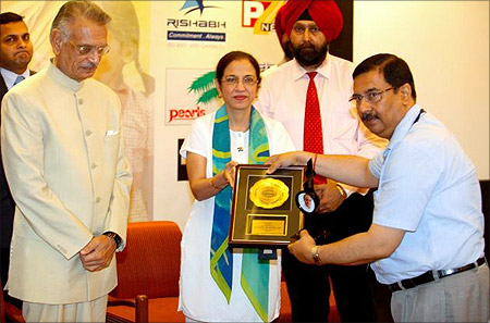POWERGRID conferred with 3rd Rajeev Gandhi Excellence Award 2011.