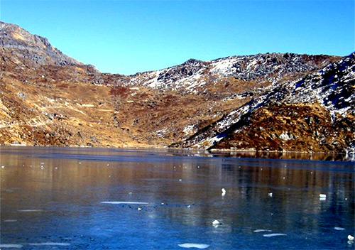 Changu Lake, Sikkim.