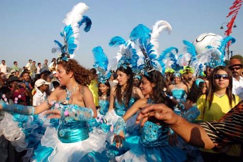 Carnival in Goa.