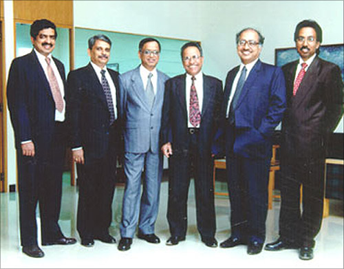 Infosys Founders.