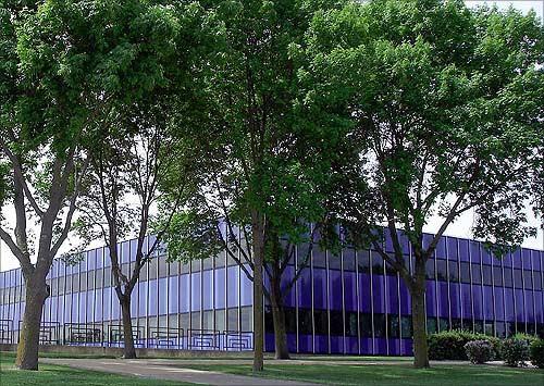 IBM building.