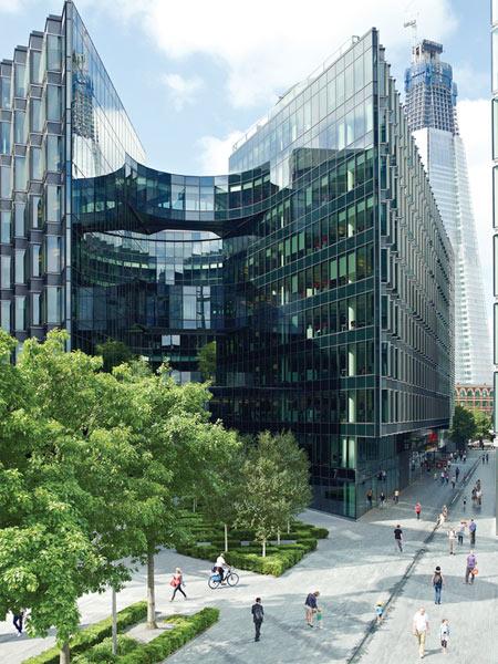PwC building in London, UK.