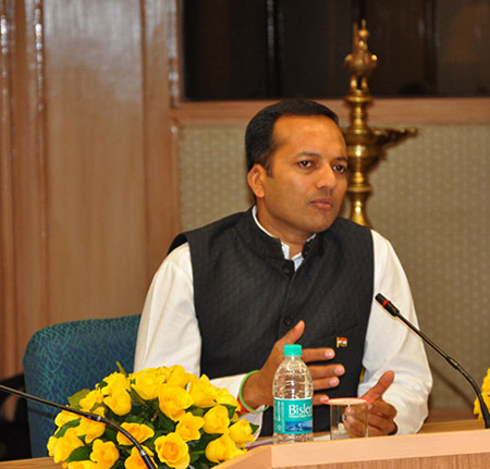 Naveen Jindal, Chairman and Managing Director of Jindal Steel and Power Ltd.