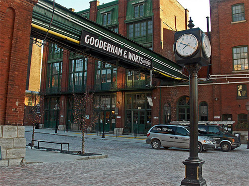 Distillery District, Toronto, Canada.