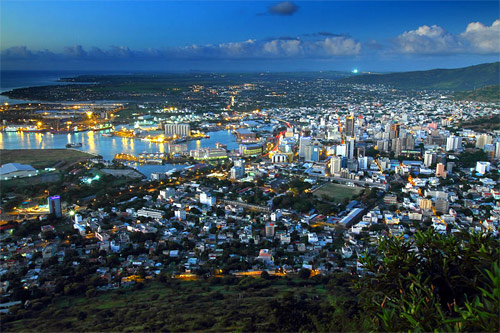 Port Louis, Mauritius.