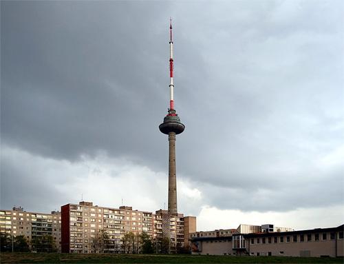 Vilnius TV tower, Vilnius, Lithuania.