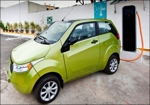 Mahindra Reva.