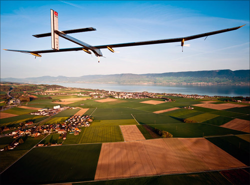 Solar Impulse aircraft.