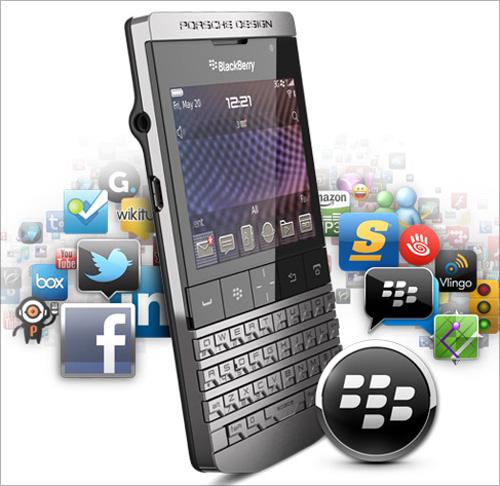 Porsche Design Blackberry.