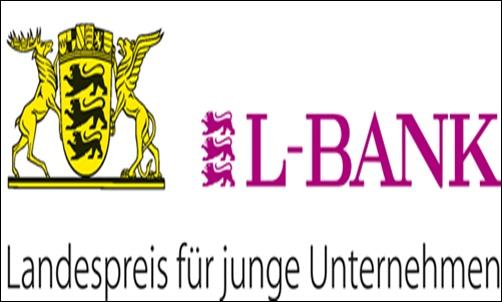 L-Bank logo.