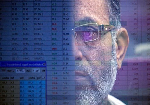 A stockbroker at the Karachi Stock Exchange.