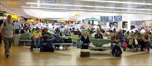 London Heathrow Airport.
