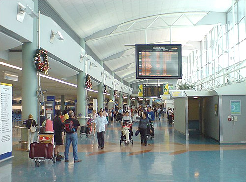 Auckland International Airport.