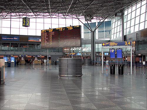 Helsinki-Vantaa Airport.
