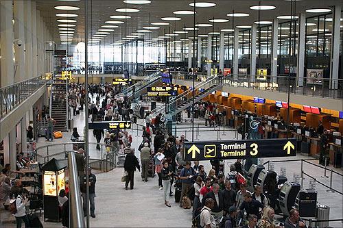 Copenhagen Airport.