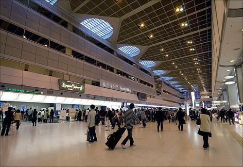Tokyo International Airport (Haneda).