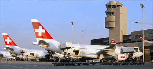 Zurich Airport.