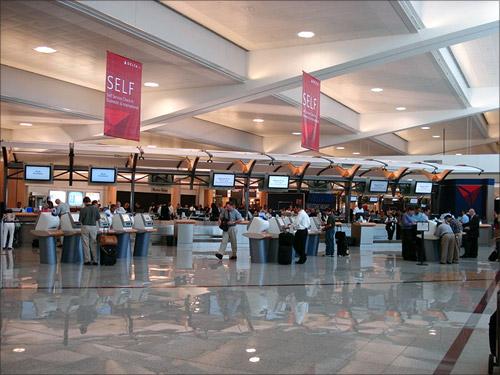 Hartsfield-Jackson Atlanta International Airport.