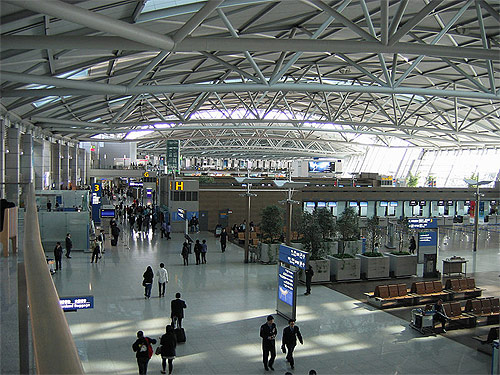 Seoul Incheon International Airport.