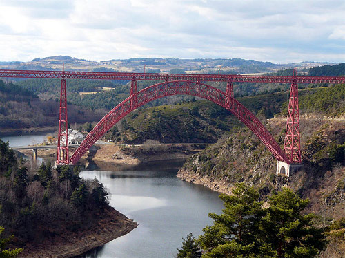 Garabit Viaduct.