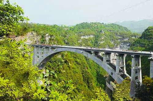 Luobuxi Railway Bridge.