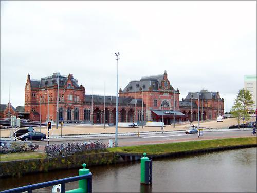 Groningen Station.