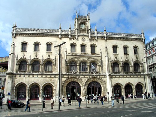Rossio Station.