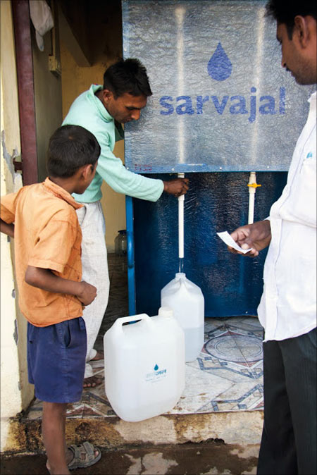 Now, an ATM for clean water