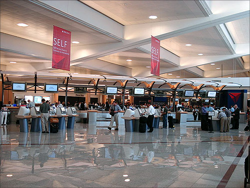 Atlanta Hartsfield-Jackson International Airport.