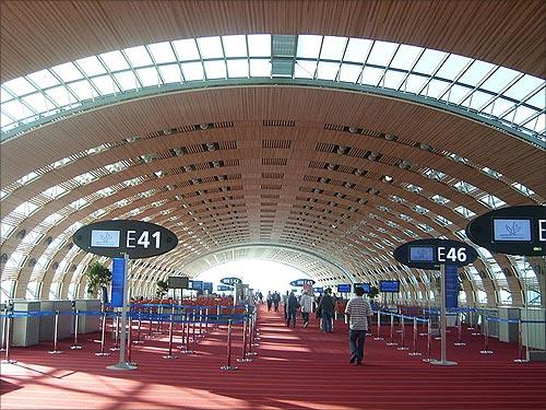 Terminal 2E Departure Lounge.