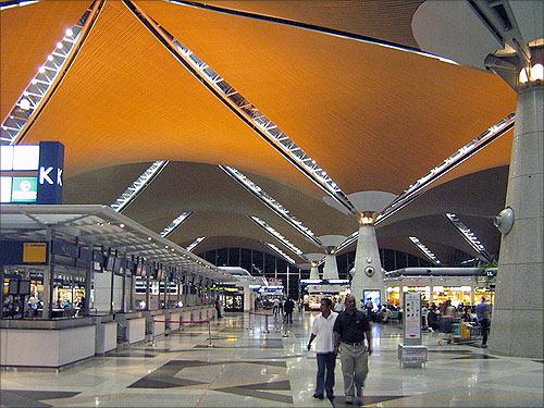 Kuala Lumpur International Airport.