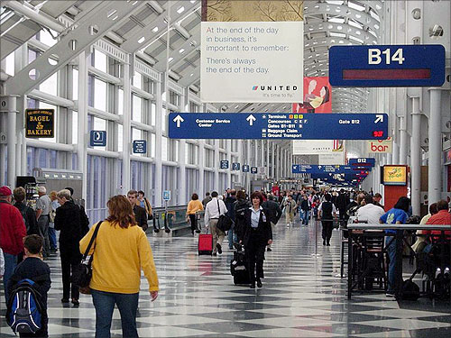 Chicago O'Hare International Airport.