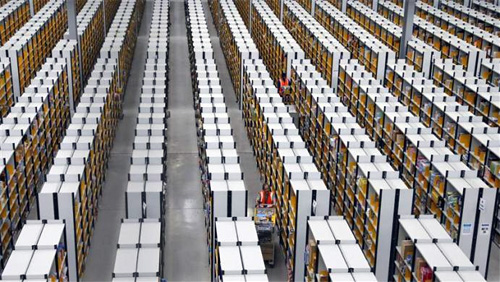 A tour of Amazon's logistics centre