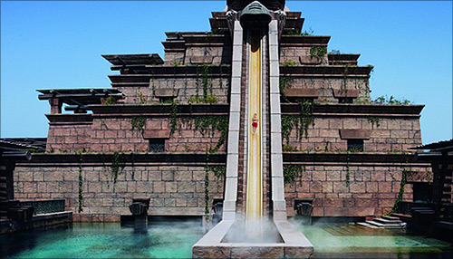 This amazing hotel recreated the lost city of Atlantis