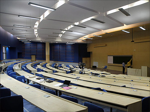 Lecture Hall, IIT-Bombay.