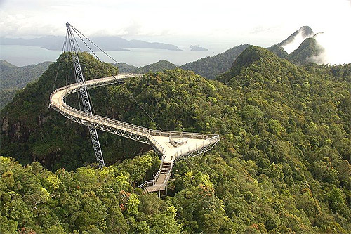 Langkawi Sky Bridge.