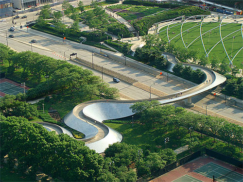 BP Bridge, Millennium Park,Chicago