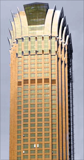 Sofitel Jin Jiang Oriental Pudong Hotel.