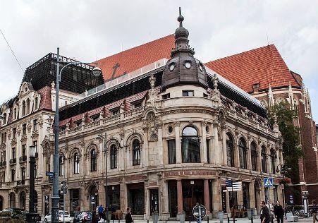 Hotel Monopol, Wroclaw.