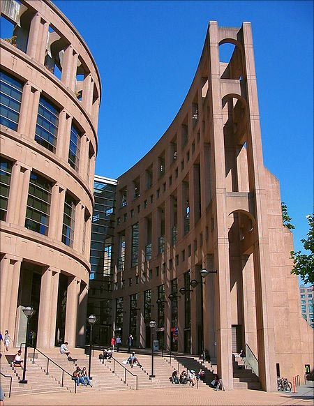 Central Public Library, Vancouver, Canada.